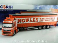 CORGI VOLVO FH KNOWLES CC14034 CURTAINSIDE 1:50 SCALE MODEL MODERN TRUCK K8967Q