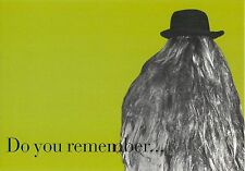 Cousin It Adams Family Do you Remember Green Advertisement Postcard 6x4""