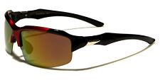 X-Loop Polarizadas Gafas de sol deporte Plástico valija diplomática Negro Rojo
