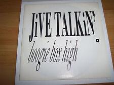 """Boogie Box High - Jive Talkin' 7 """" Single"""