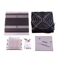 Thermoelectric Peltier Refrigeration Cooling System DIY Kit Set Cooler Fan