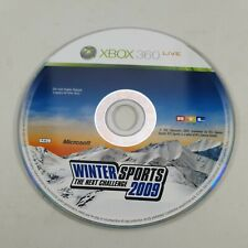 * Disc Only * Winter Sports 2009 Xbox 360 Sports Video Game PAL