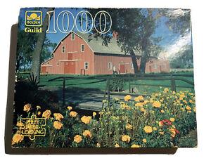 GOLDEN GUILD 1000 PC JIGSAW PUZZLE Nebraska Ranch Complete