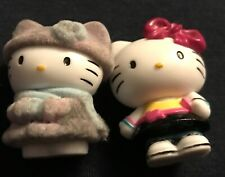 2 Hello Kitty 1976-2010 Collectable Figurines by Sanrio.co.LTD