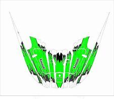 kawasaki 650 x2 x2  jet ski wrap graphics pwc decals decal kit 1985 1995 green 1