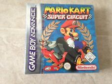 Mario Kart Super Circuit Gameboy Advance Gba New & Sealed