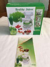 Manual Orange Juicer Hand Crank Healthy Veggies Juicer Squeezer