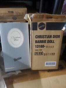 Christian Dior 13168 Barbie Doll 1995 NRFB W/SHIPPER