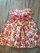 First impressions baby girls dress 12 mos Euc