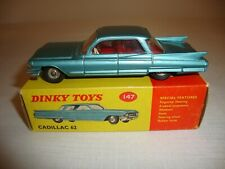 DINKY 147 CADILLAC 62 - NR MINT in original BOX