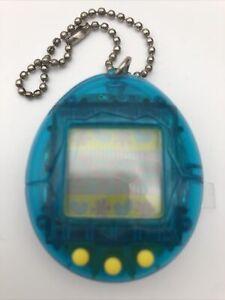 Original Bandai Tamagotchi 1996  Gen.  1 Clear Blue Japanese Version Fast P&P!