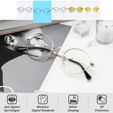 Cyxus Computer Gaming Glasses Anti Blue Light Anti Fatigue Metal Round