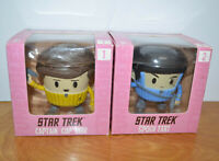 STAR TREK Funedibles VINYL FIGURINES Spock Tart Captain Cup Kirk New Sealed MISB