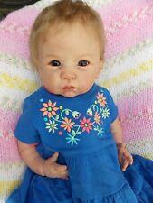 "🌼 Cutie 21"" Reborn Baby Girl Doll GEORGIA by Linda Murray 🌼"
