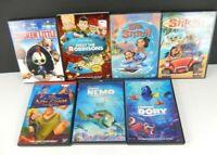 Lot of 7 Disney Animated (DVD, 7-Discs) WS/FS Lilo Stitch Dory Nemo New Groove
