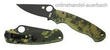 SPYDERCO PARAMILITARY 2 BLK   Taschenmesser Klappmesser Messer