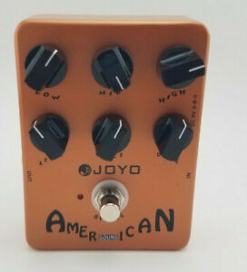 JOYO JF-14 American Sound Guitar Effect Pedal Amplifier Simulation 57 deluxe