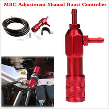 Car Aluminium Alloy MBC Adjustment Manual Turbo Boost Controller Red Universal