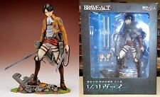 Attack on Titan Levi Brave-Act PVC Figurine 1/8 Sen-ti-nel Kodansha Authentic NW