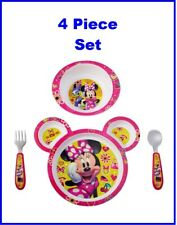 The First Years Disney Baby Minnie Mouse Feeding Set, 4 Pieces
