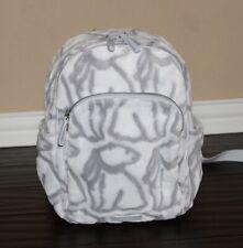💚 Vera Bradley Iconic Plush Small Backpack Bag Purse Polar Bear Beary Merry NWT