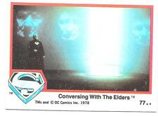 SUPERMAN The Movie trading cards 1978 Series 1 ~ Card #77 TOPPS