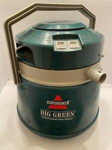 Vintage Bissell Big Green Multi-Purpose Deep Cleaner Machine Vacuum 1672