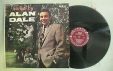 SONGS BY ALAN DALE LP CORAL RECORDS CRL 57164 POP VOCAL