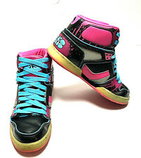 Osiris Mid NYC 83 SLM Yellow Orange Blue Skate Shoes Womens Size 7.5 (W-183)