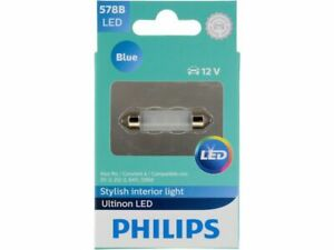 For 1966 GMC 1000 Dome Light Bulb Philips 73661PC Ultinon LED - Blue