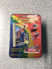 1996 JEFF GORDON METALLIC IMPRESSIONS EMBOSSED METAL RACING CARDS NEW SEALED