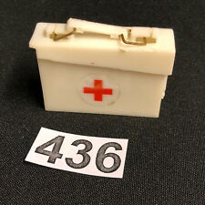 VINTAGE ACTION MAN - FIRST AID White Medic Box with Handle.