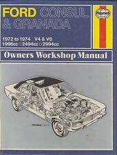 ford granada mk1 2 0 2 5 3 0 saloon & estate ( 1972 - 1974 ) workshop manual