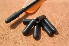 6 x Genuine US Made Pocket Shot Black Arrow Nock Caps - catapult slingshot