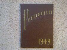VINTAGE - YEARBOOK - PENNERIAN - PENN HIGH SCHOOL 1949 - GREENVILLE, PA