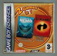Game Boy Advance - Gli Incredibili Alla Ricerca di Nemo - 2 in 1