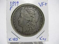 VERY RARE 1899 P  MORGAN DOLLAR VERY NICE VERY FINE++  ESTATE COIN   K183