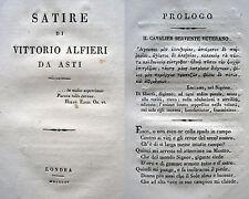 POESIA SATIRE VITTORIO ALFIERI