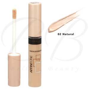 MAYBELLINE Affinitone Concealer Corrector with Wand 7.5ml - 02 Natural *NEW*