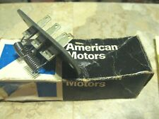 NOS 1973 AMC Matador and Ambassador A/C blower motor resistor