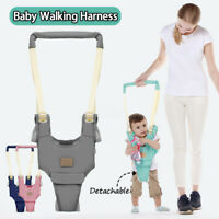 Baby Walker Helper Assistant Adjustable Handheld Kid Safe Walking Harnes