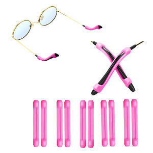 Anti-Slip Glasses Ear Hook Grip Cushions Eyeglass Pads Cover Sport Holder 5 Pair