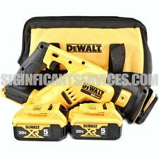 DeWALT DCS367B 20V 20 Volt MAX XR 5.0 Ah Brushless Compact Reciprocating Saw