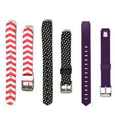 ONN Replacement Band Metal Buckle For Fitbit Alta Purple, Pink and Black