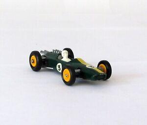 Vintage Matchbox Lesney #19 Lotus Racing Car Yellow Hubs Regular Wheel XLNT 1966