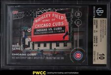 2016 Topps Now Chicago Cubs Wrigley Field #635 BGS 10 PRISTINE