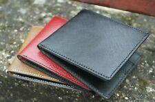 portafoglio uomo slim rfid in vera pelle nero porta carte di credito classico