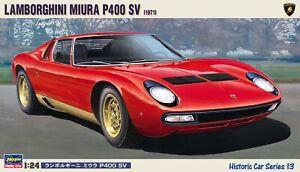 Hasegawa Lamborghini Miura Sv NEW Model Kit