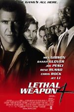 Lethal Weapon 4 - Widescreen - DVD - Mel Gibson