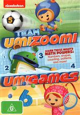 Team Umizoomi: Umigames * NEW DVD * (Region 4 Australia)